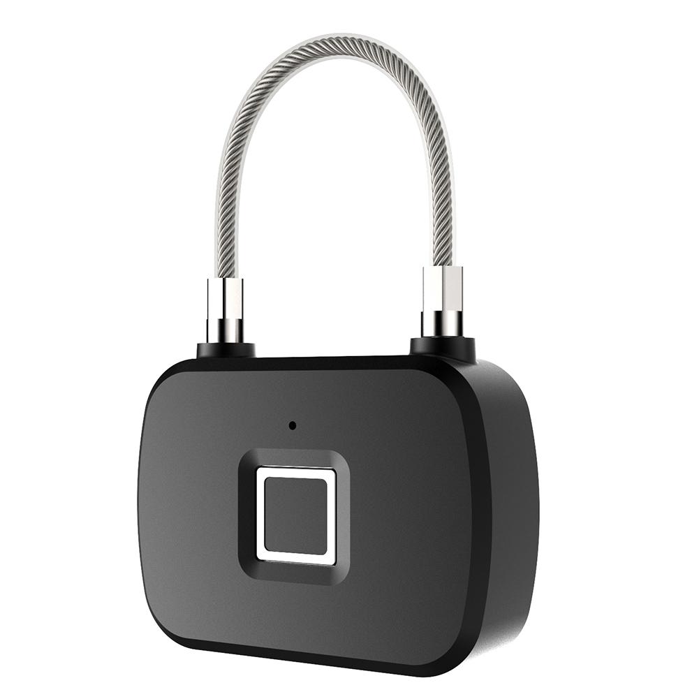 L13 Fingerprint Lock Smart Keyless Anti-Theft Padlock for Travel Suitcase Bicycle