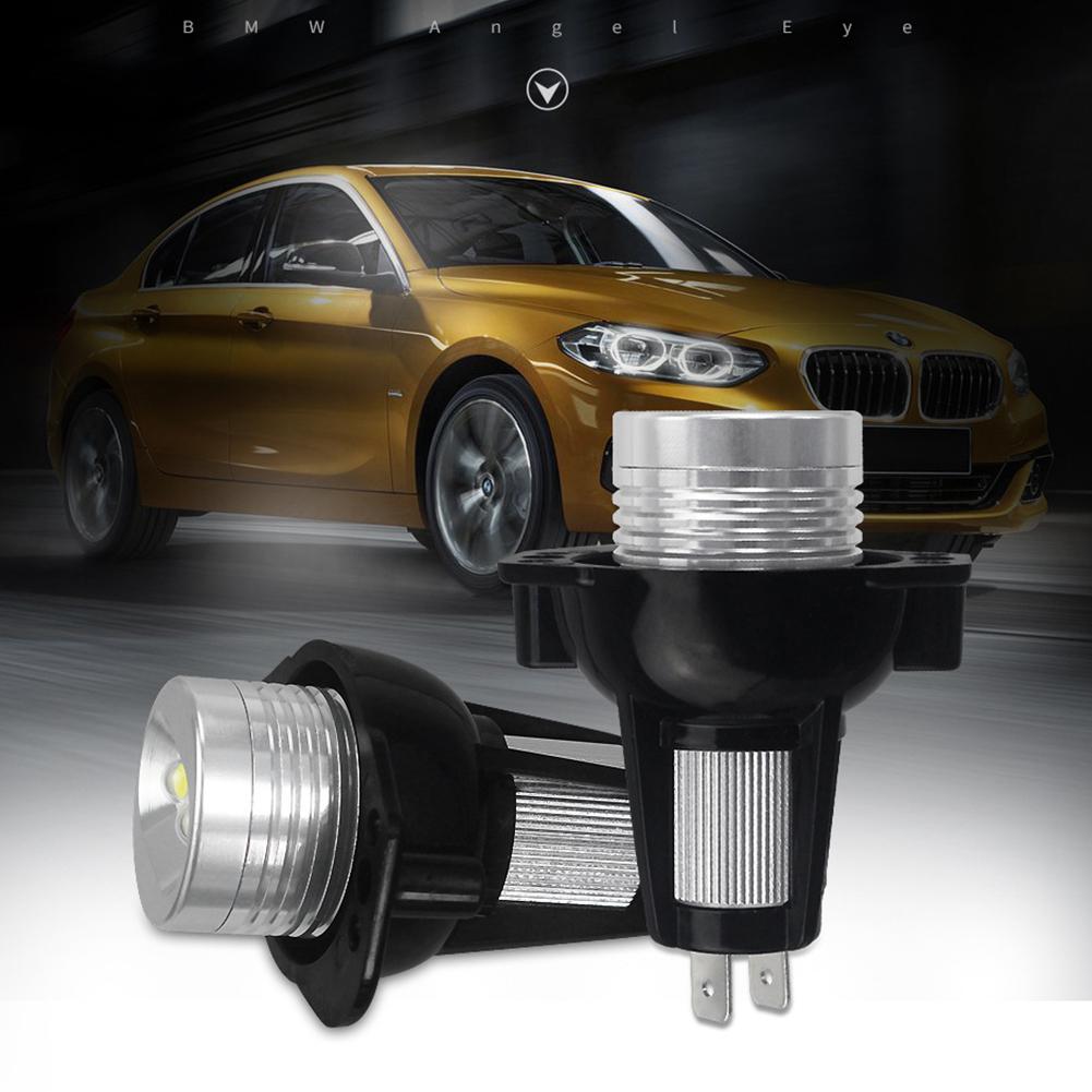 2pcs For BMW E90 E91 LED 10W Angel Eyes Light Headlight Lamp LED Special Fog Lamp white
