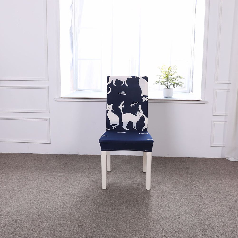 Washable Cartoon Patterns Elastic Chair Cover for Home Hotel Supplies