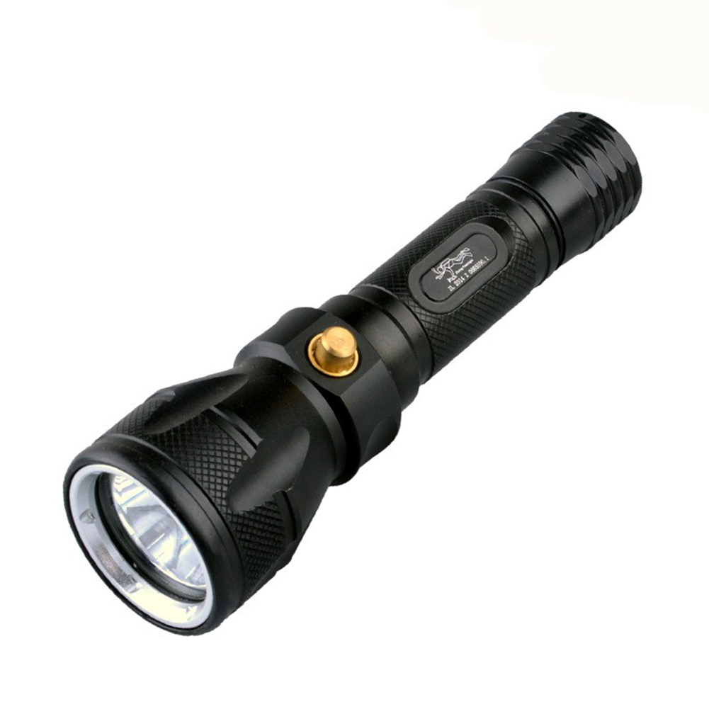 L2 Waterproof High Beam LED Diving Flashlight