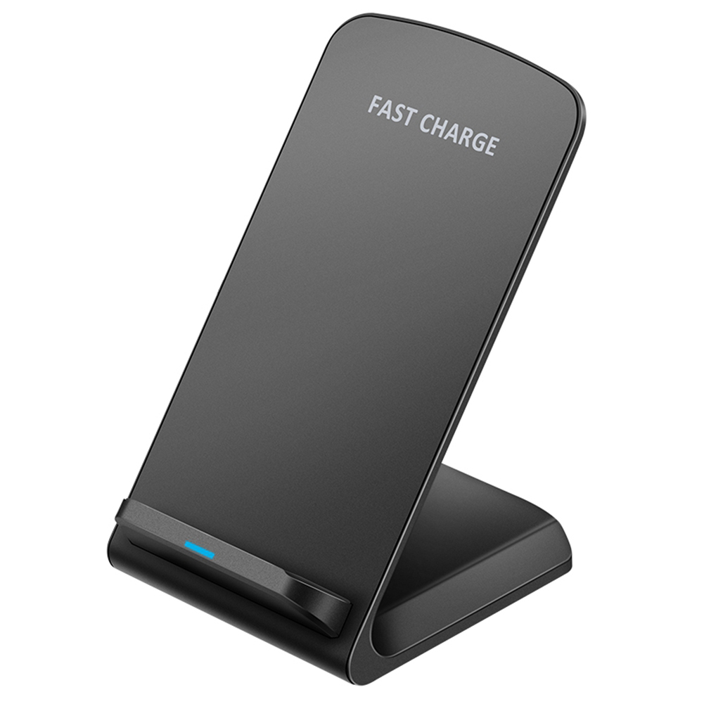 10W Qi Wireless Charger Fast Charging for Phone 11 8 X XR XS Max Galaxy S8 S9 S10 Plus S10e Note 9 10 black
