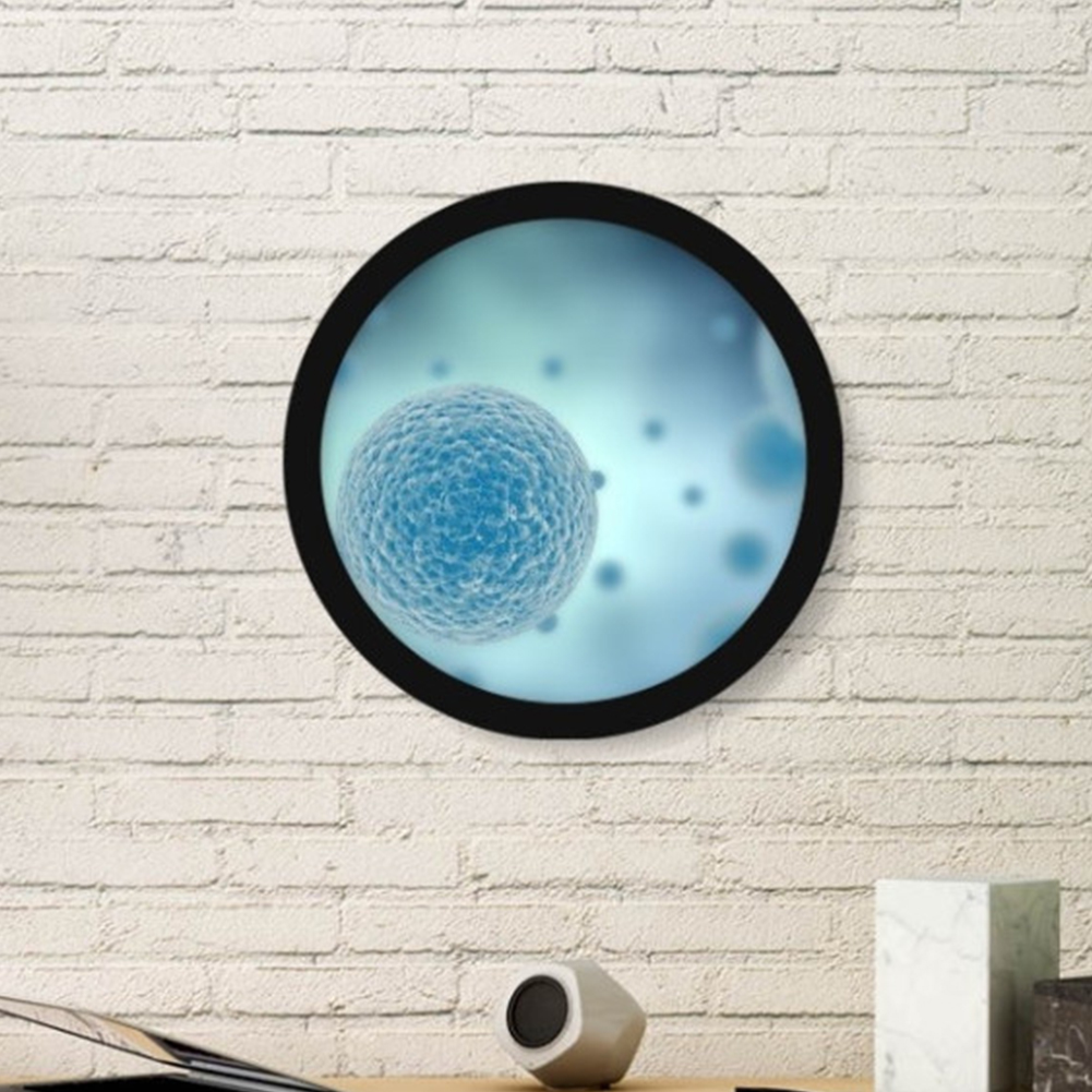 Modern Round Free Combination Frame Wall Hanging No-trace Photo Frame Home Art Decoration  14 inches