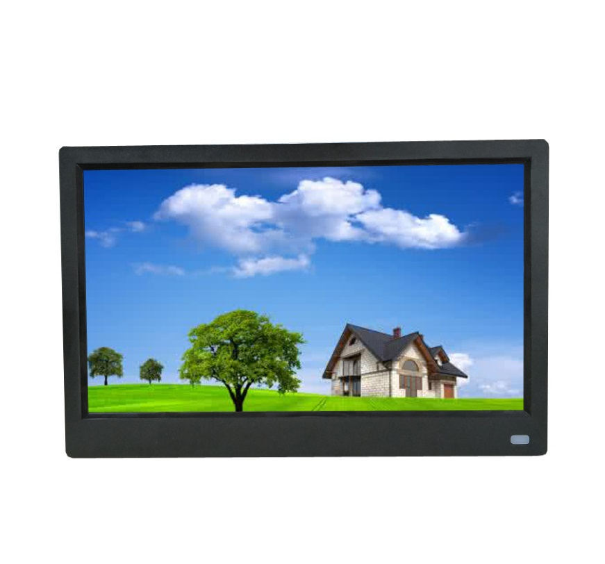 11.6 inches HD LED Photo Frame Digital Photo Frame Album Player with Motion Sensor Black British regulations