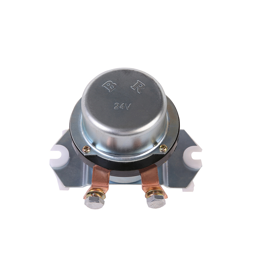 24V Universal Excavator Relay 080008-30000 Battery Relay Battery Main Switch Accessories Silver