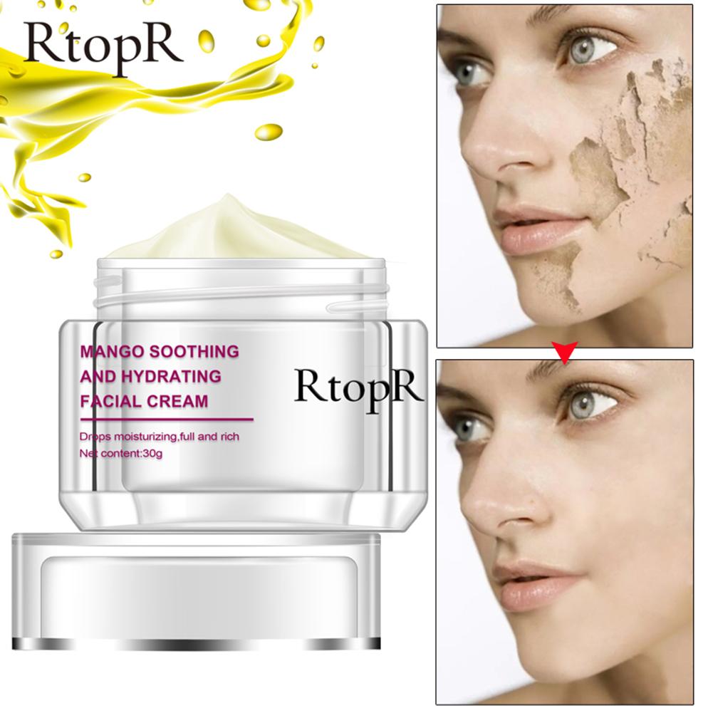Face Cream Anti-Wrinkle Anti Aging Whitening Mango Bright Moisturizing Liquid Tights Nourishing Shrink Pores Cream Normal specifications_30