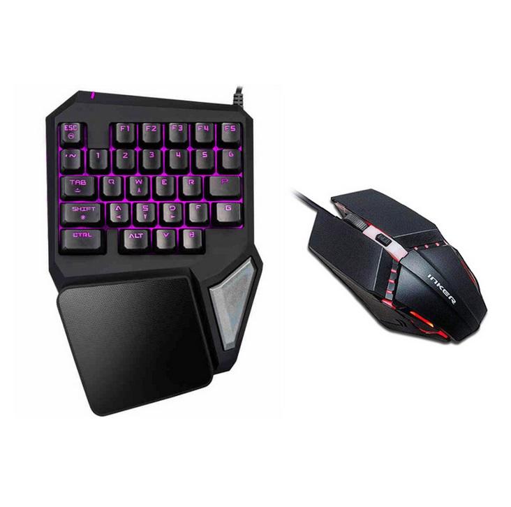 Alician PUBG Mobile Phone Game Controller Mouse Keyboard Battledock Converter