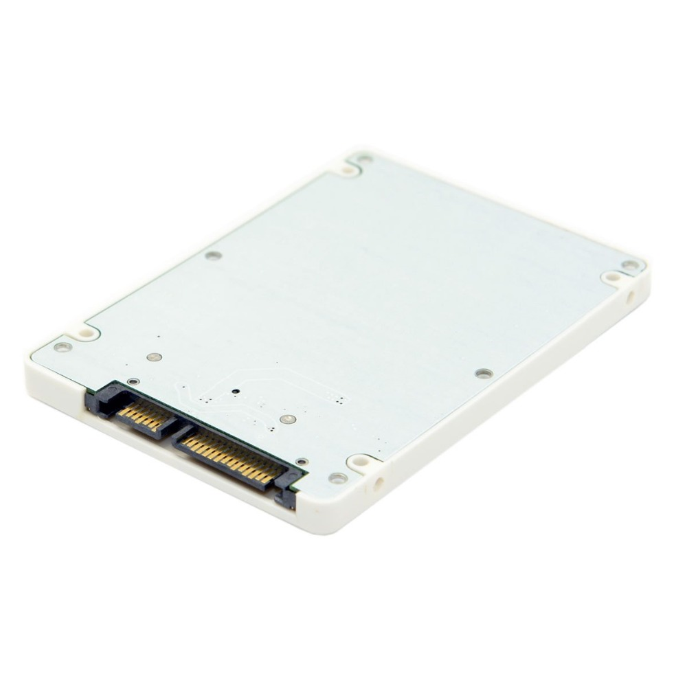 1.8 Inch Micro SATA 16 Pin to 2.5 Inch SATA 22 Pin 7+15 Adapter Card Hard Disk External Case SSD Enclosure None