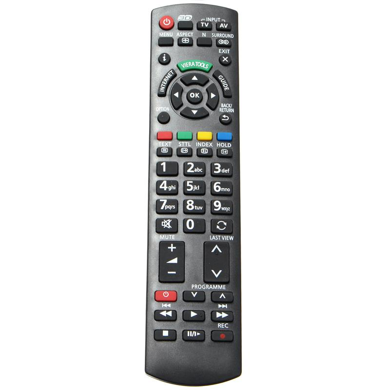Replacement Remote Control for Panasonic 3D TV N2QAYB000659 NC Smart TV LCD LED Plasma TVs black_Panasonic General English Version