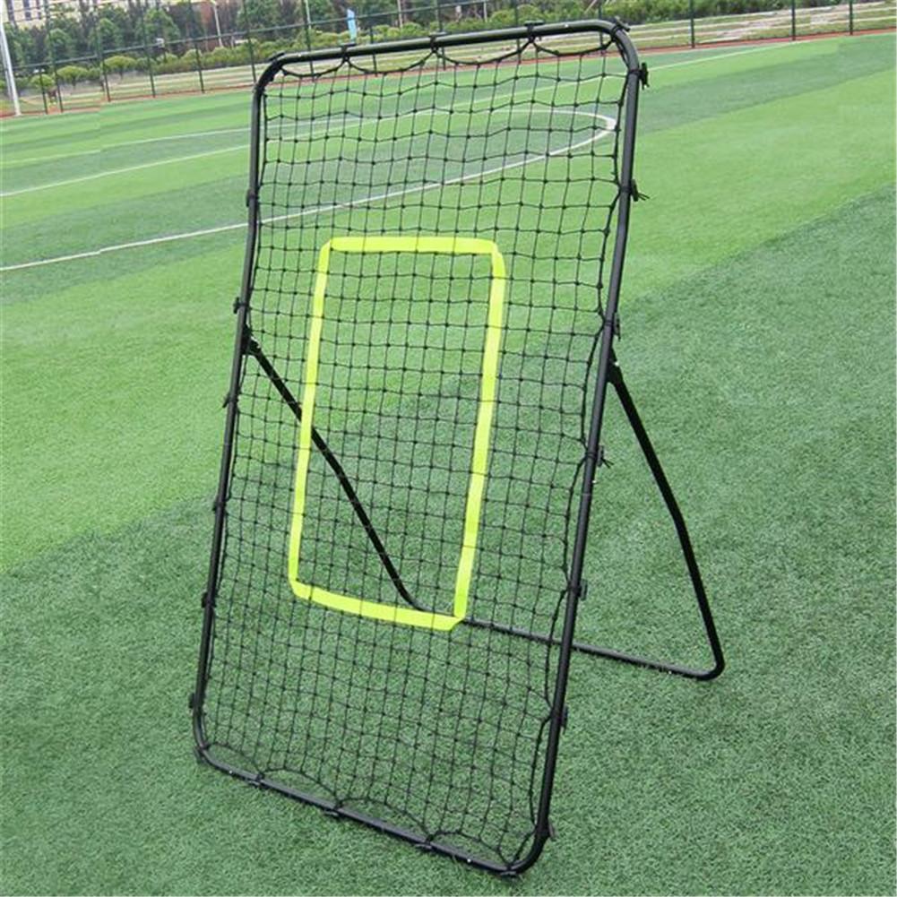 [US Direct] XY-RB002  Baseball Training Rebound  Goal 140×90×80CM With Galvanized Steel Pipe Φ19*0.6mm+PE Net black