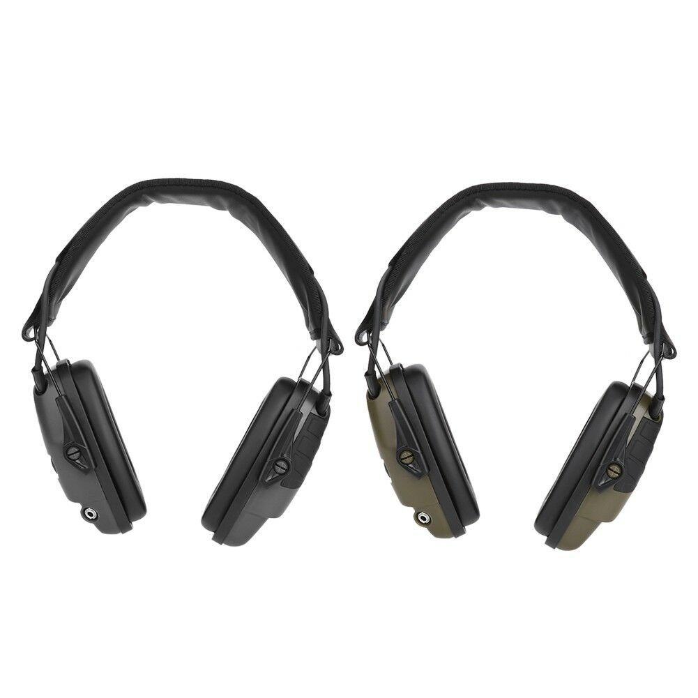 Noise Reduction Earmuff Shooting Headphone Anti-noise Ear Defenders Hearing Protector black