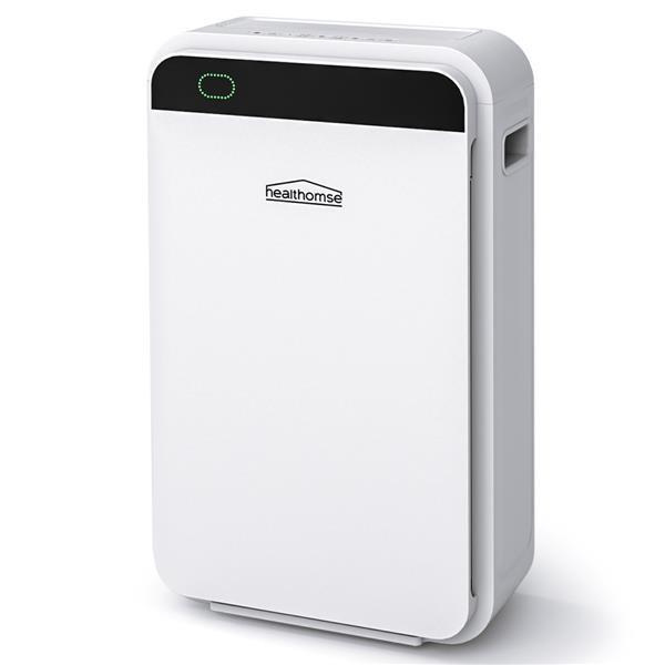 [US Direct] Hepa Air  Purifier 3 Layer Purification System 4-auto Mode Smart Sensor Air Purifier white