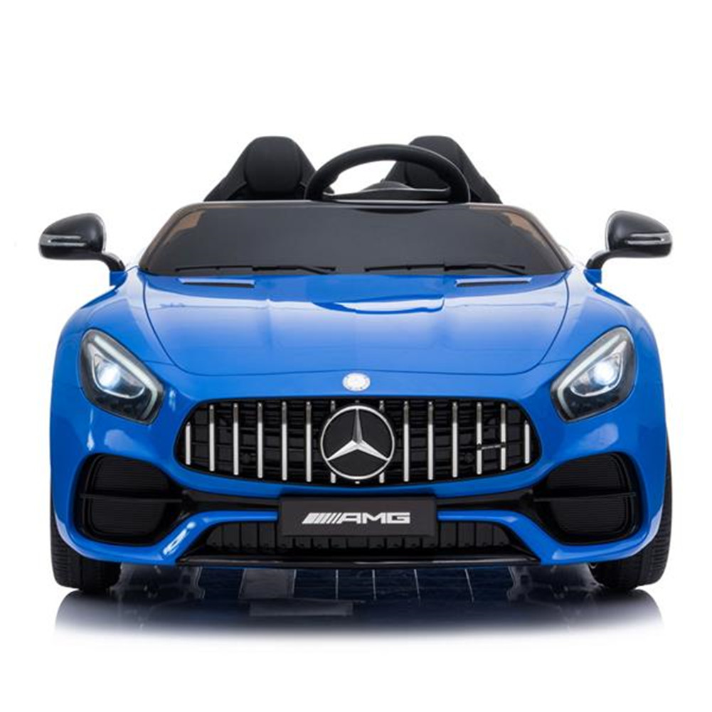 [US Direct] For Benz Gt Rc  Car Lz-920 Dual Drive 35w * 2 Battery 12v 2.4g Remote Control blue