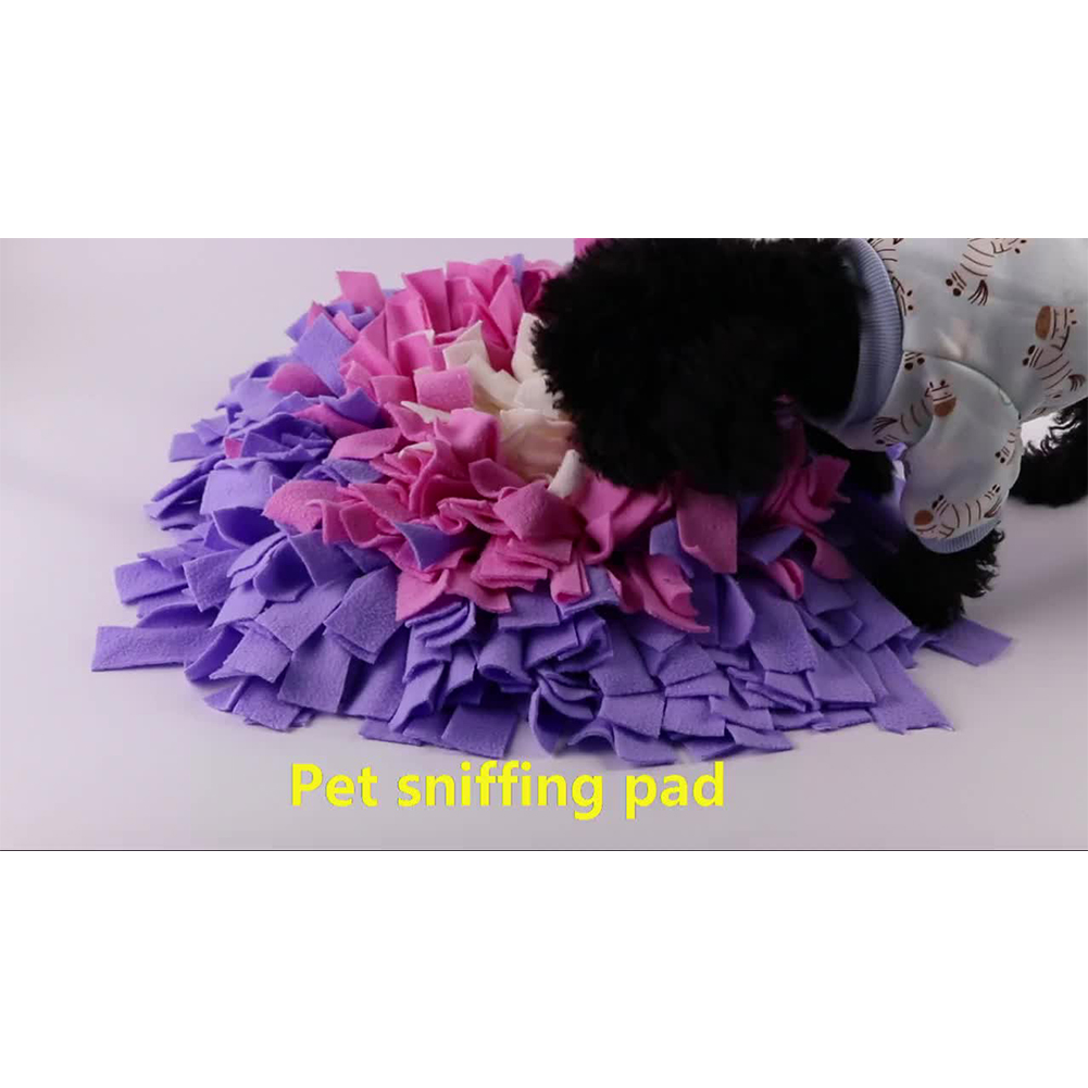 Pet Dog Sniffing Mat Find Food Training Blanket Play Toy for Slow Food Puzzle Sniffing Pad
