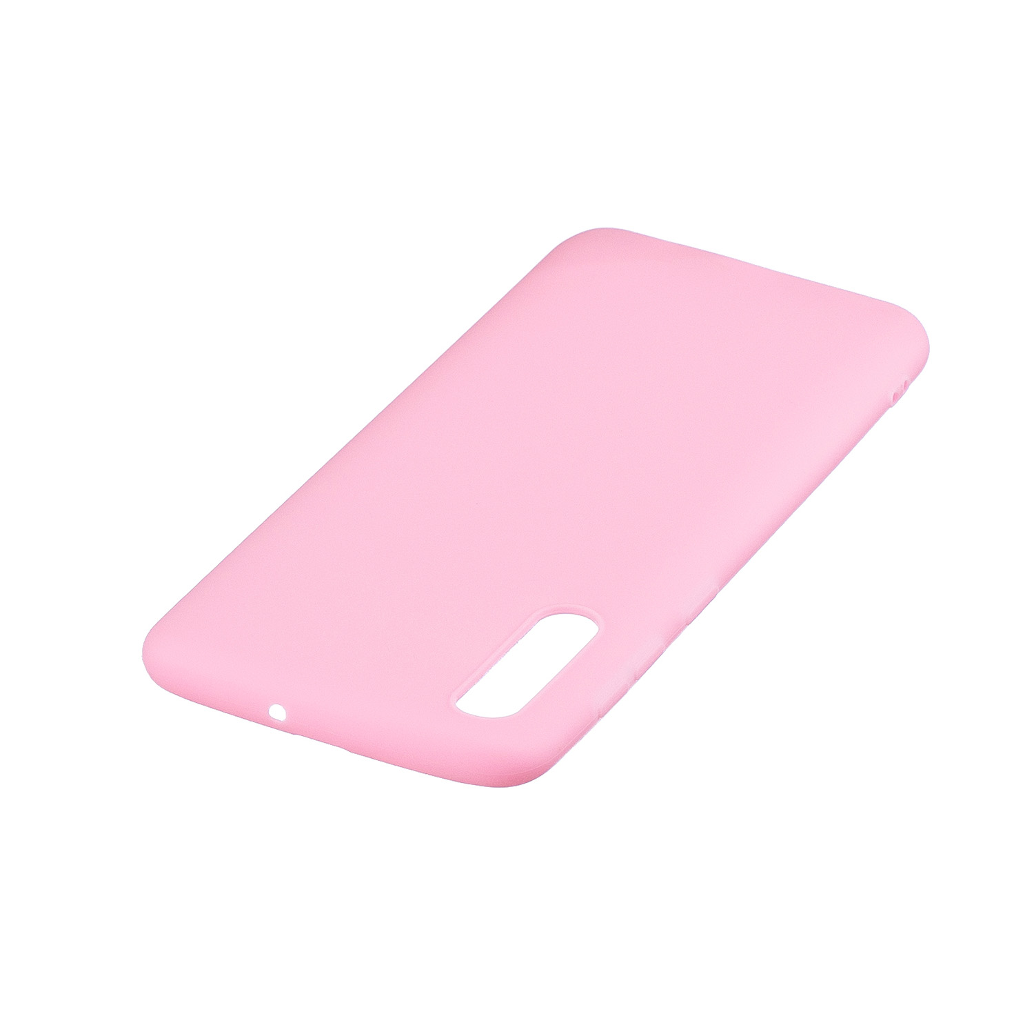 For Samsung A50 Lovely Candy Color Matte TPU Anti-scratch Non-slip Protective Cover Back Case black