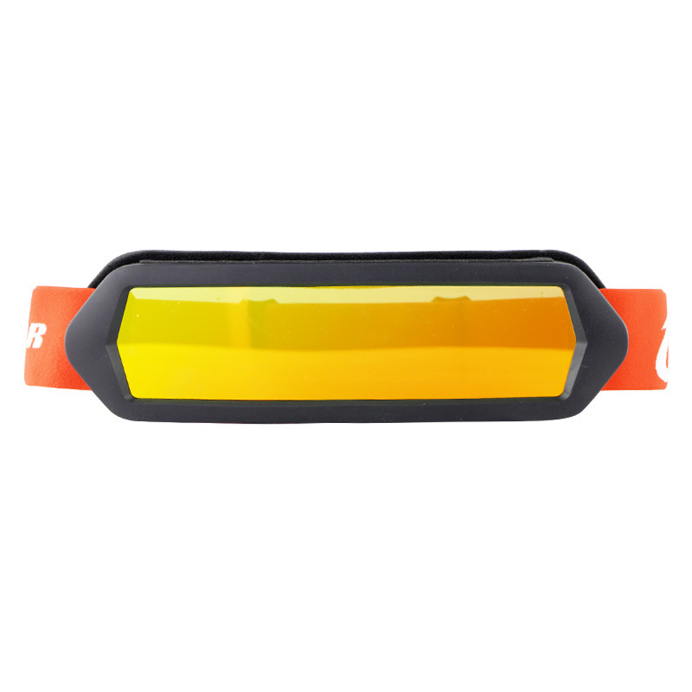 Motorcycle Off-road Goggles Riding Goggles Outdoor Anti-fog Goggles Orange lens