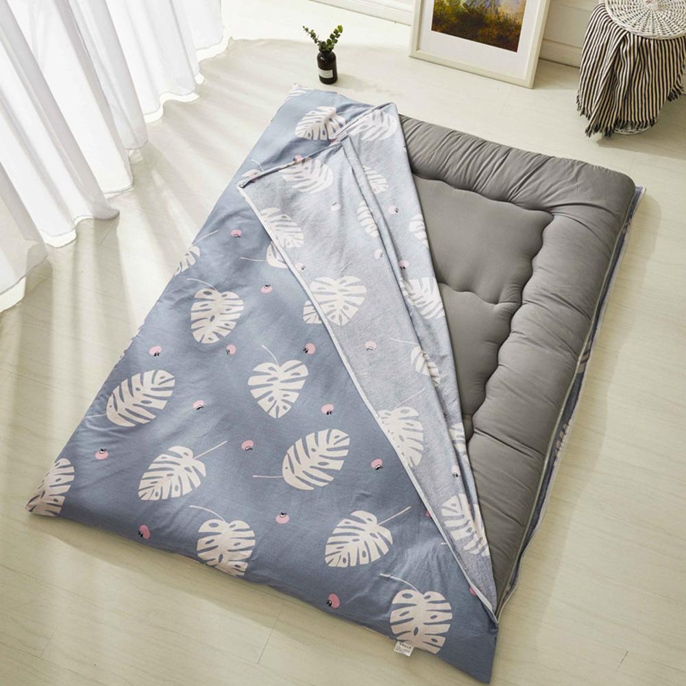 Thickening Mattress Tatami Cover Anti-skid Bedroom Furniture Student Dormitory Matress Banana leaf