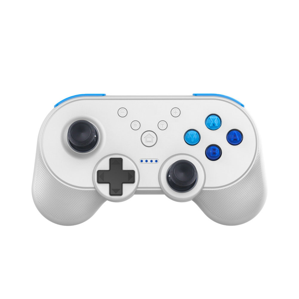 Gamepad for Switch Wireless Controller Bluetooth Dual Motor with Vibration Support White