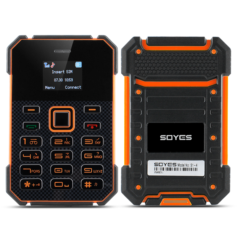 Soyes S1 Ultra Slim Bar Phone (Orange)