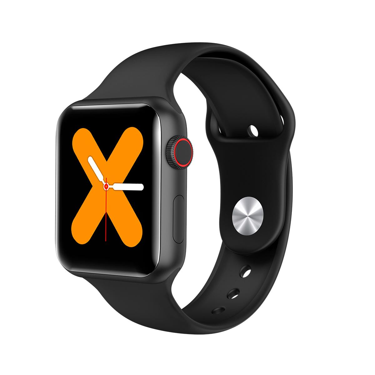 Plastic V10 Smart Bracelet Taking Temperature Blood Pressure Heart Rate Watch 1.54 HD IPS 240*240 Touch Screen black