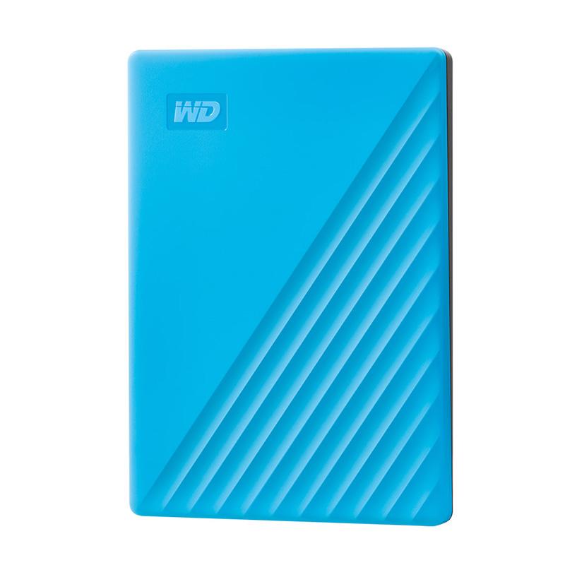 Western Digital WD HDD 1TB/2TB/4TB Hard Drive 5400RPM SATA 6GB/s 32MB Cache 2.5inch External Hard Disk For PC Laptop Backup Light blue_2TB