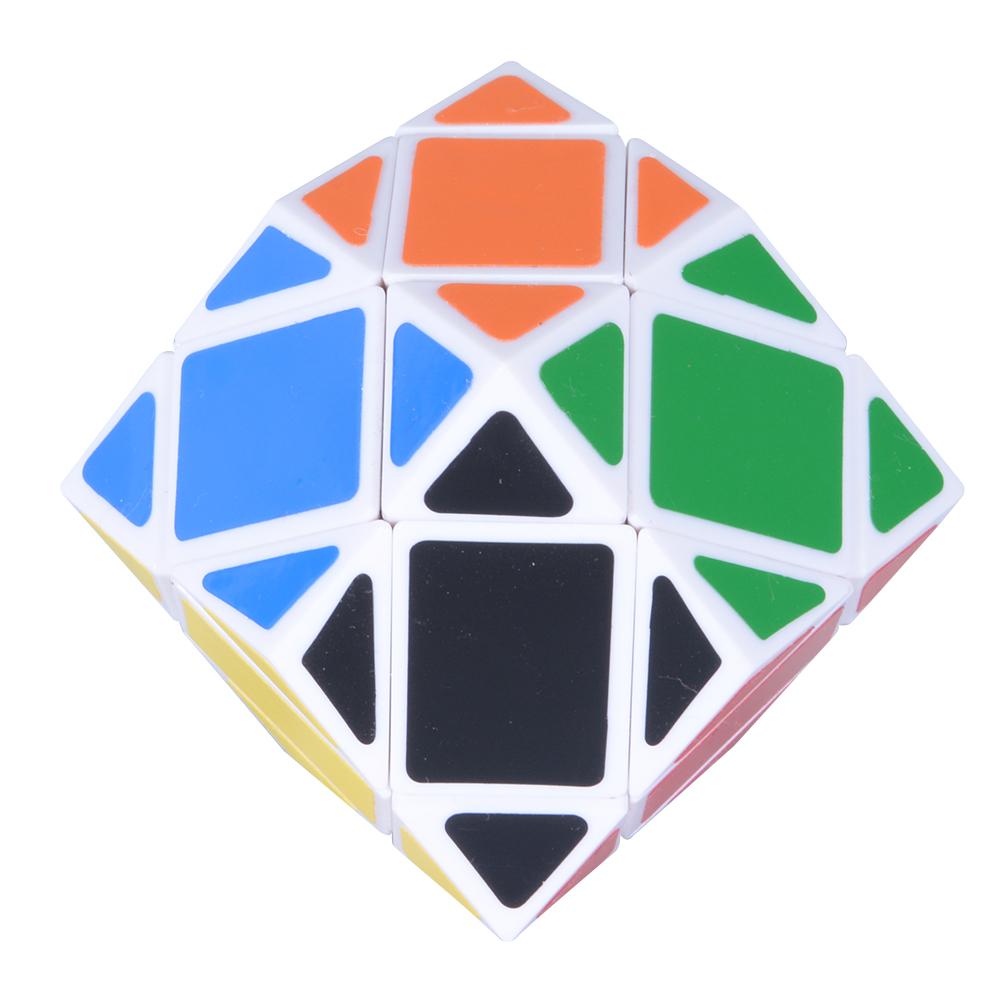 [EU Direct] Lanlan Super Skewb 12 Side Cube White