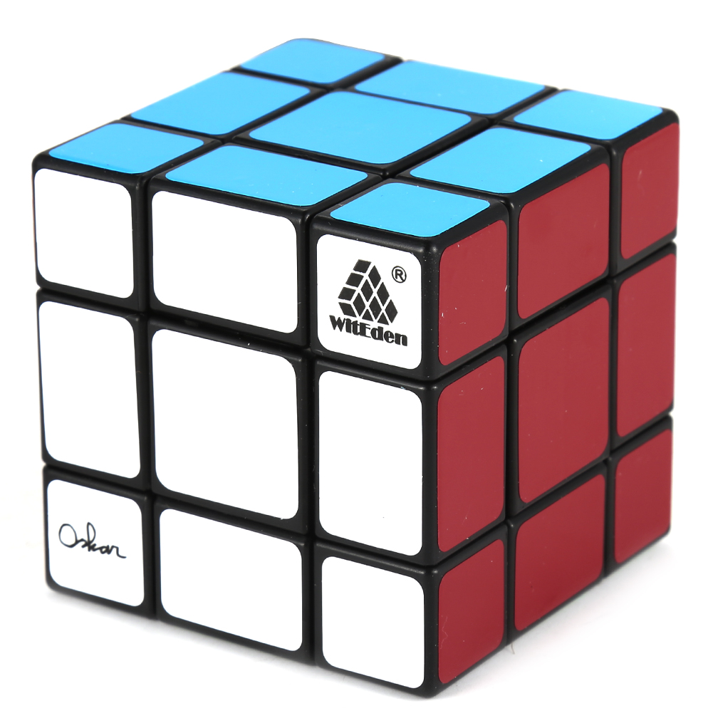 [EU Direct] Qiyun 3x3x3 Speed Cube, Black
