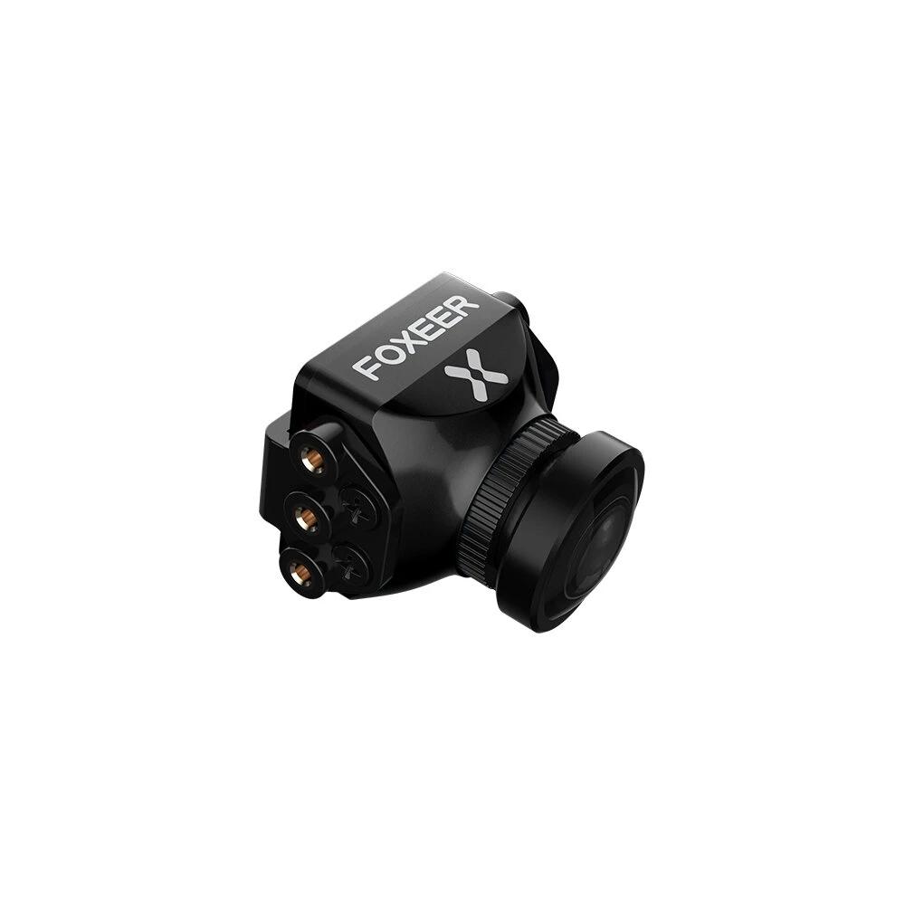 Foxeer Predator V5 FPV Camera Racing Drone Mini Camera16:9/4:3 PAL/NTSC switchable Super WDR OSD 4ms Latency Upgarded PredatorV4 Black 2.5MM