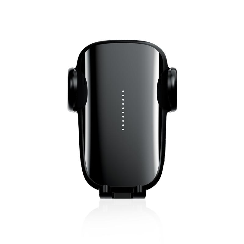 Car Charger Non-damaging Car Navigation Bracket Car Wireless Fast Charger Black