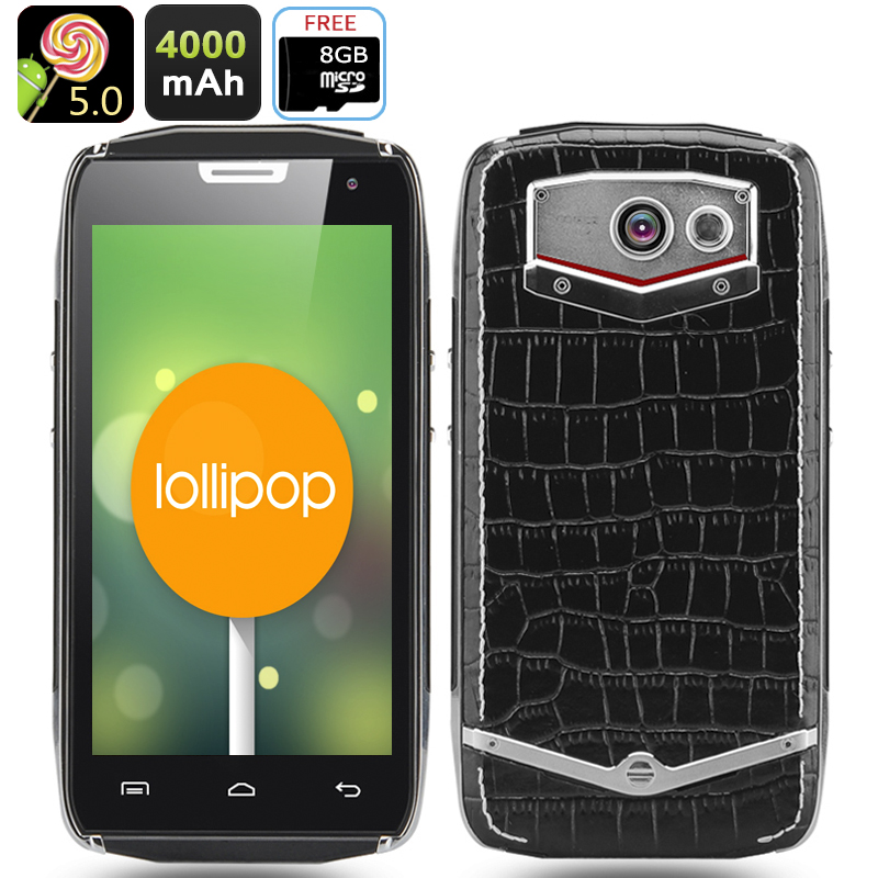 DOOGEE TITANS2 DG700 Android 5.0 Rugged Phone
