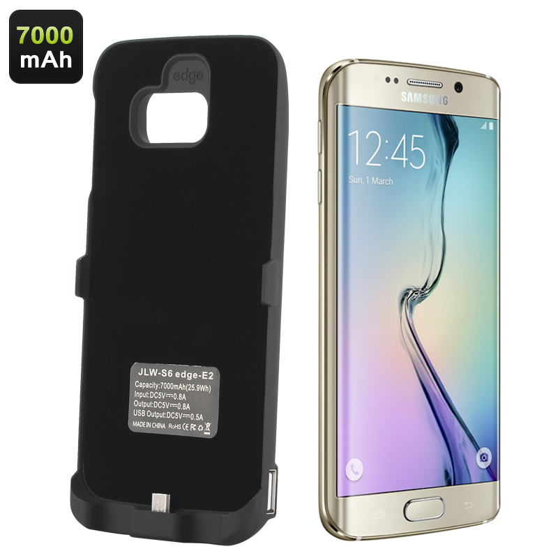 Battery Case for Samsung Galaxy S6 Edge