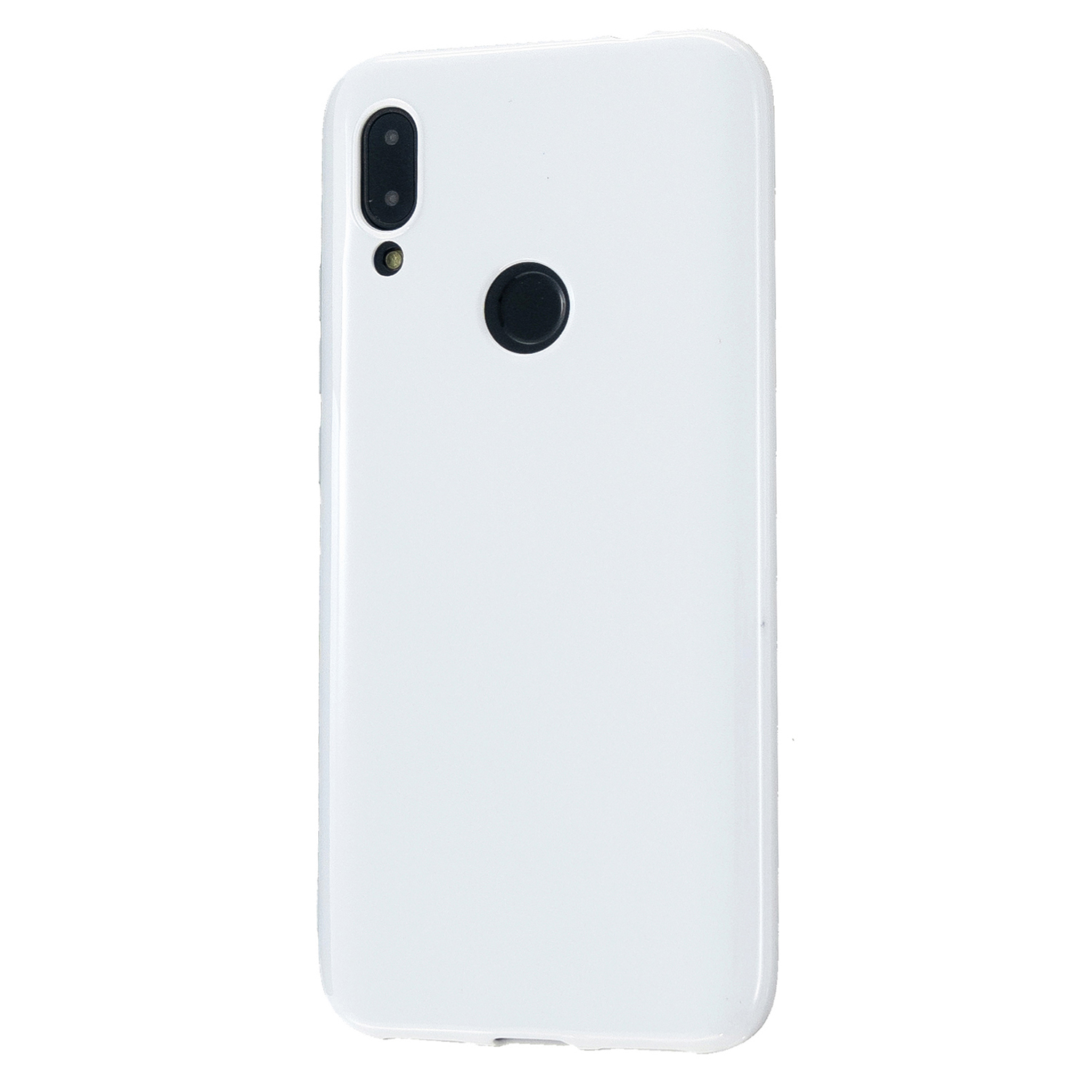 For Redmi 7/7A/Note 7/Note 7 Pro Cellphone Cover Overall Protection Soft TPU Anti-Slip Anti-Scratch Phone Case Milk white