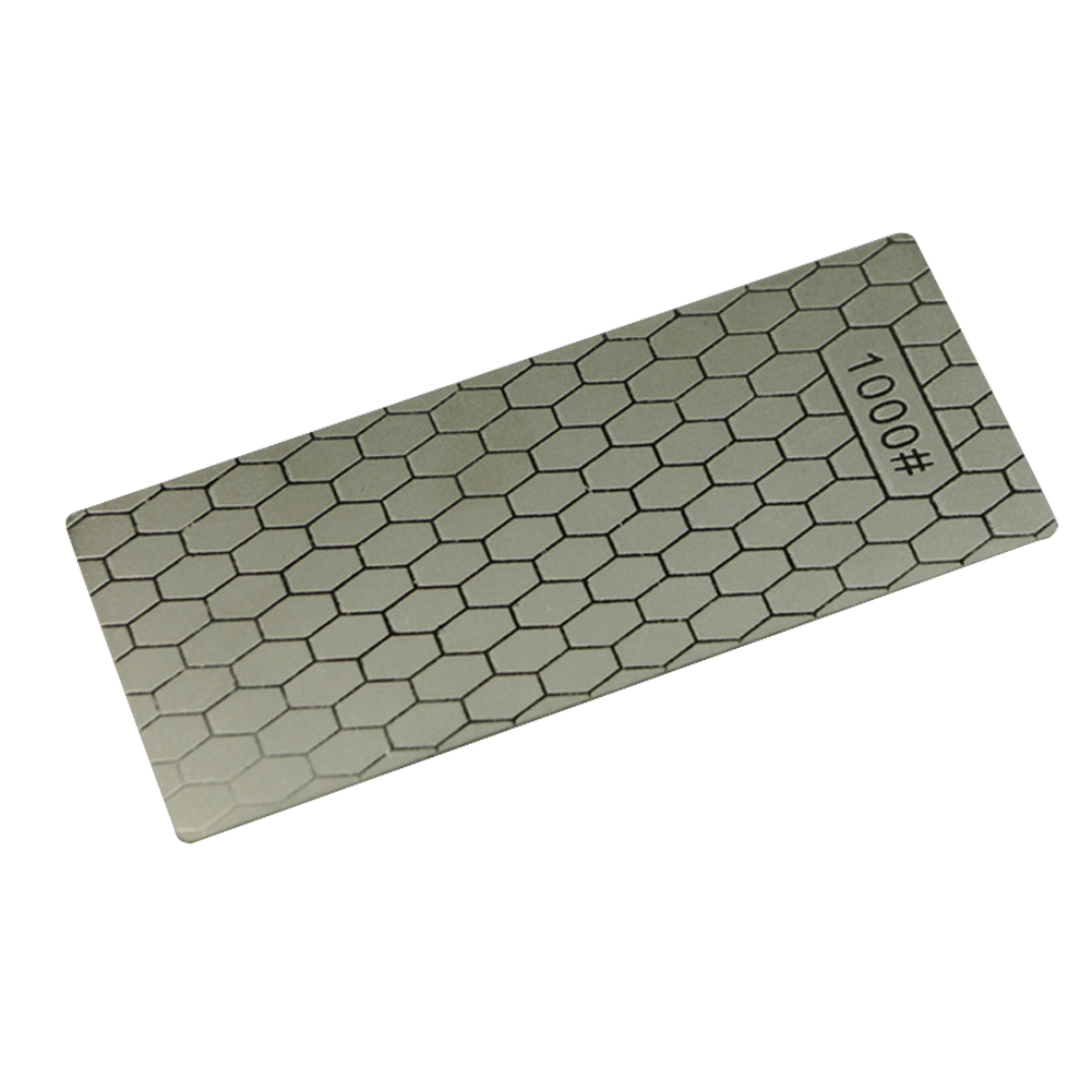 1000 Mesh Honeycomb Style Diamond Knife Sharpener Sharpening Plate Grindstone  150 * 63 * 1mm