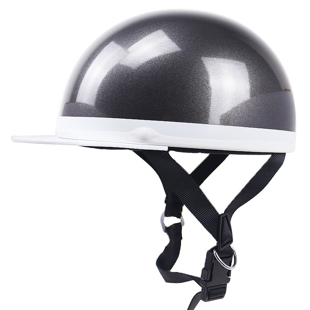 Motorcycle Helmet Electromobile Leisure JIS PSC Certification Riding Helmet Gray one size