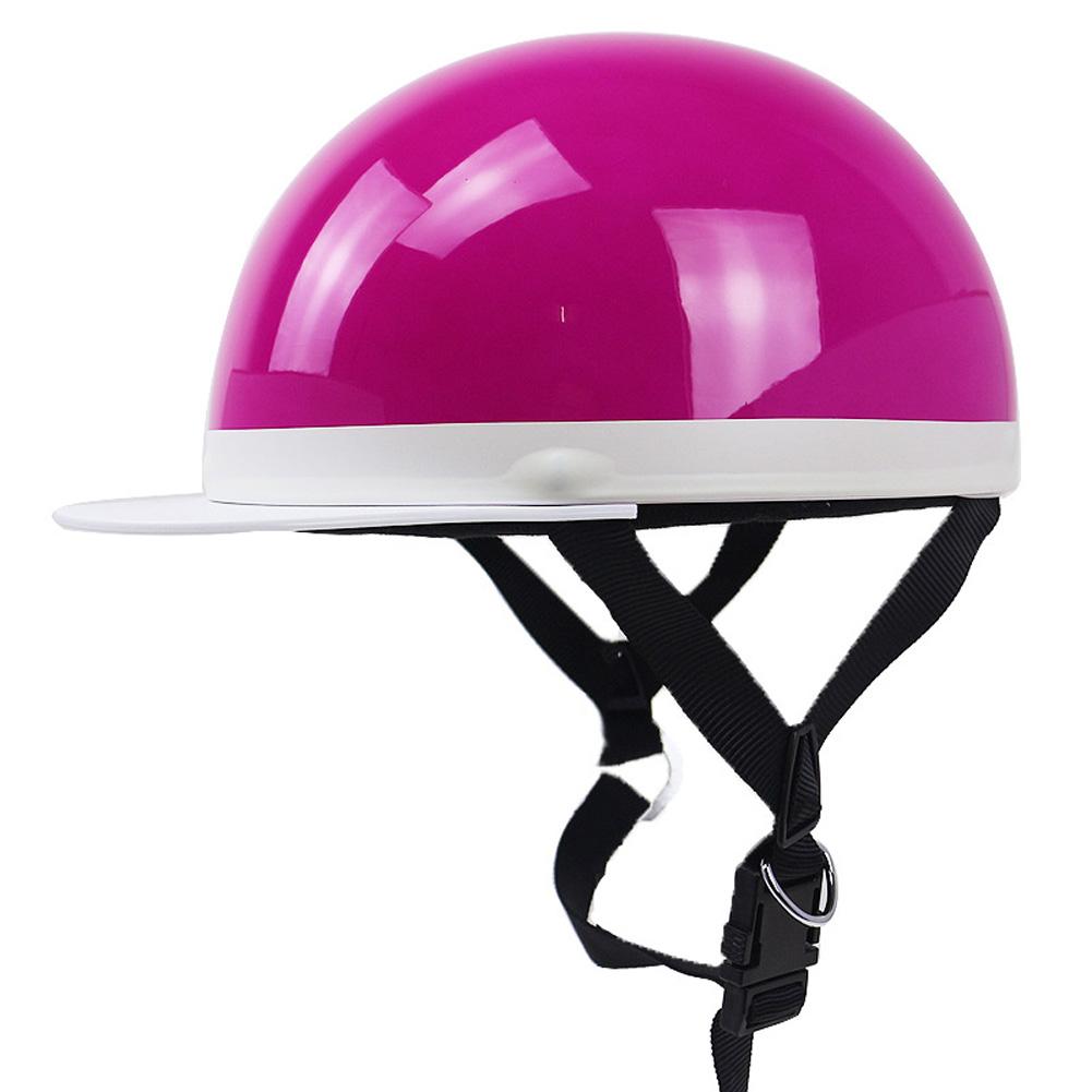 Motorcycle Helmet Electromobile Leisure JIS PSC Certification Riding Helmet Pink one size