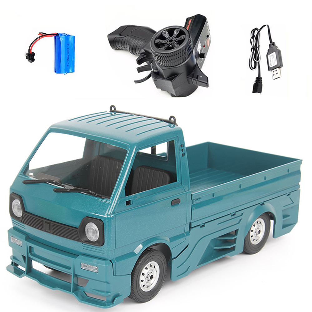 Wpl  New  Product  D12d 1/10 2.4g Off-road Climbing Drift Rc  Car Vehicle Models Toys With Large Surrounded & Blow Vent blue