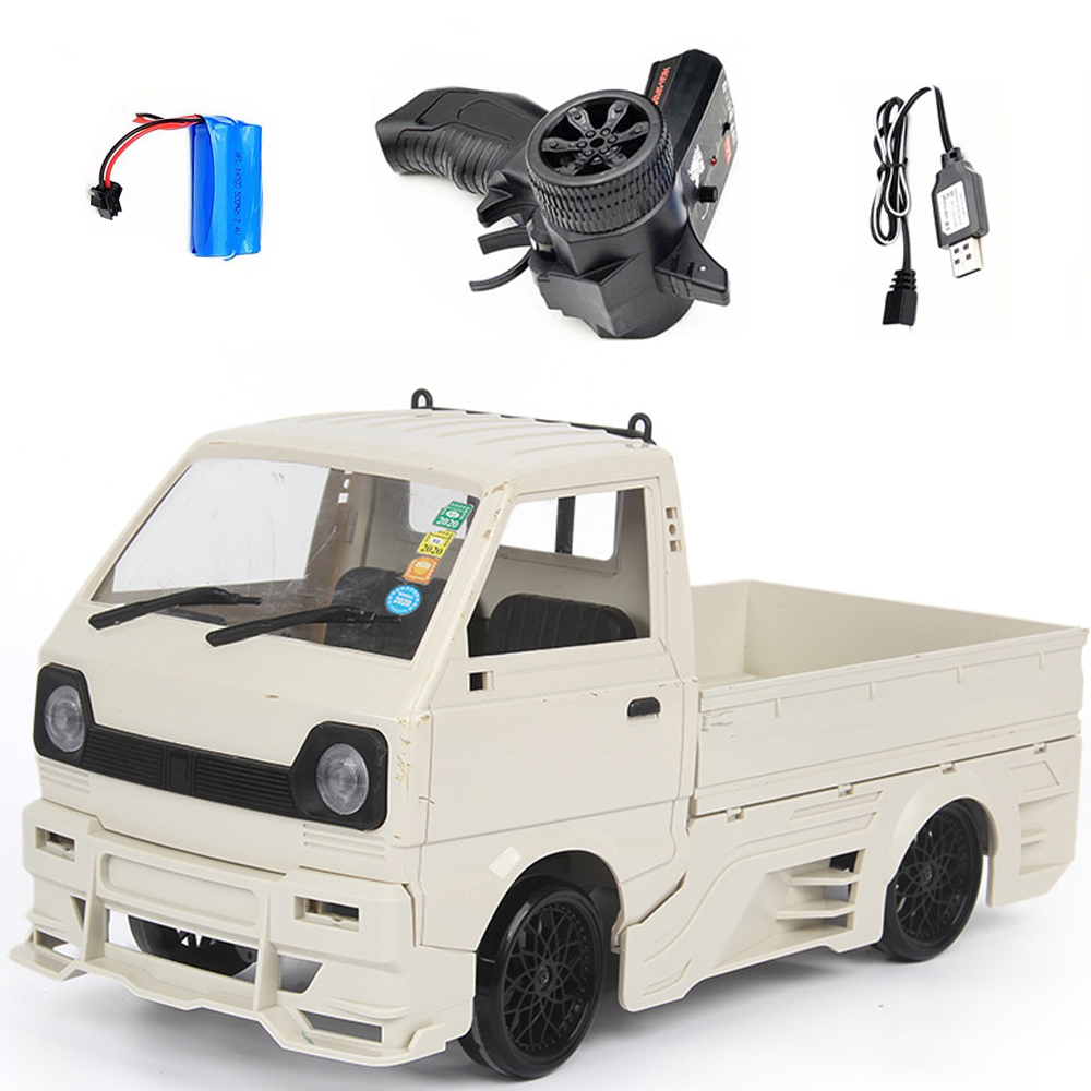 Wpl  New  Product  D12d 1/10 2.4g Off-road Climbing Drift Rc  Car Vehicle Models Toys With Large Surrounded & Blow Vent white