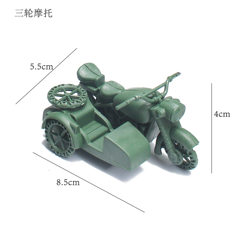 10 Pcs Children DIY Model Toys Sand Table Military Model Accessories Puzzle Learning Toy