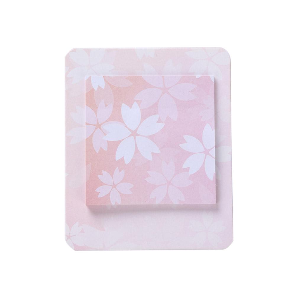 Romantic Cherry Pattern Printing Sticky Note