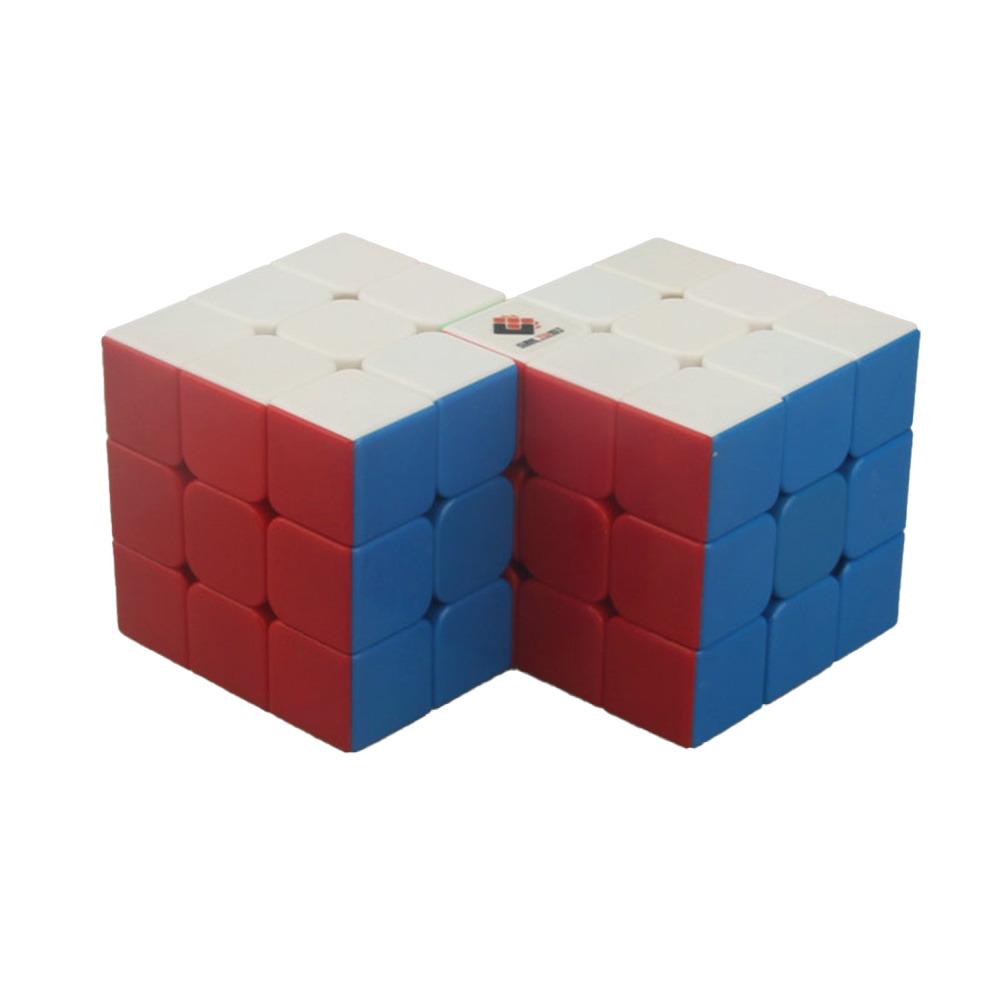 Anti-stick Magic  Cube Educational Puzzle Toy For Kids Stress Reliever 2 in 3