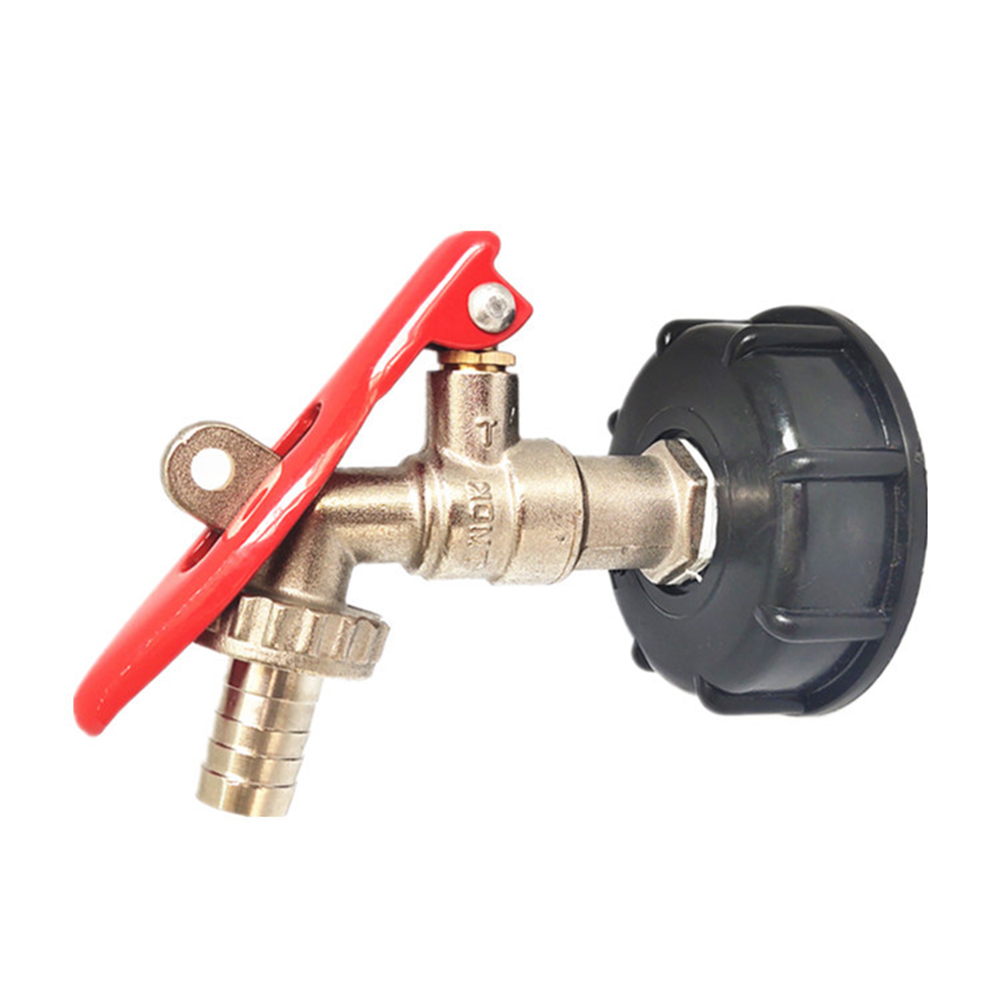 Adapter Tap Adapter Thread IBC Adapter Tap Connector Replacement Valve 1/2 with lock