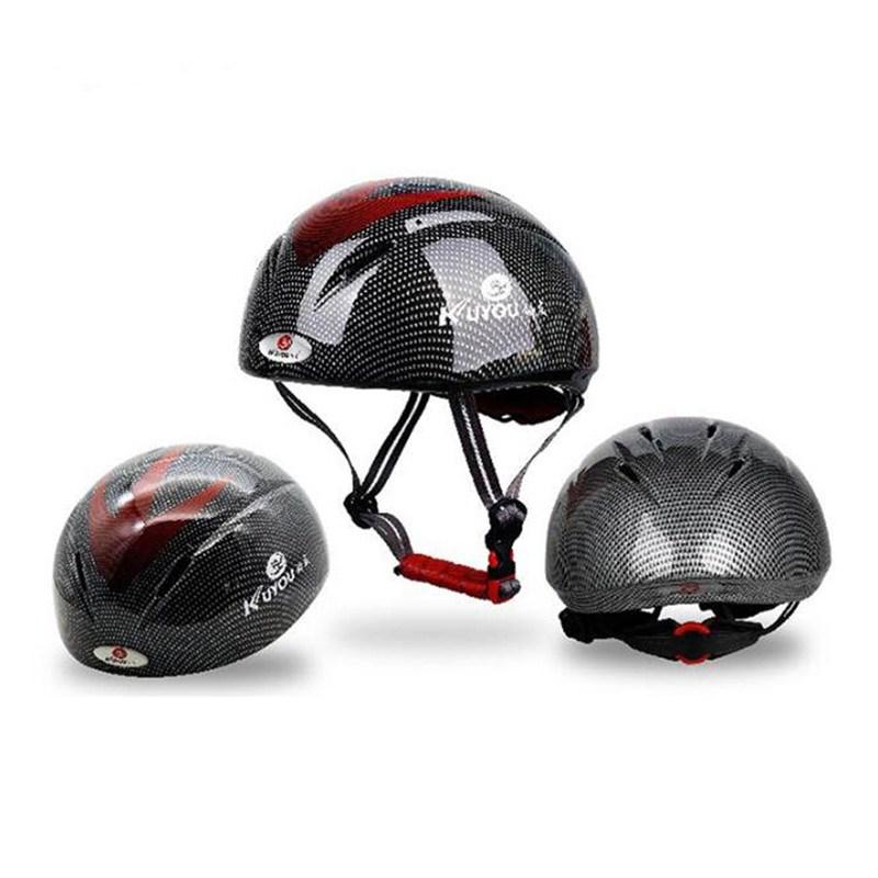 Track Speed Skating Ice Sports Integrated High Strength Helmet Speed Skating Helmet Black M