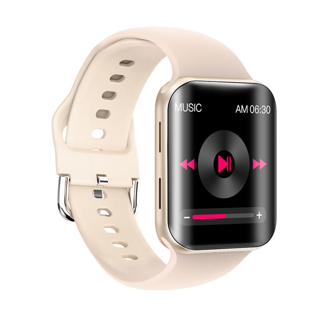 T68 Smart Watch Bluetooth Call Sleep Blodd Pressure Monitor Heart Rate Monitor Remote Control Smartwatch Golden
