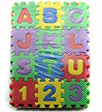 36Pcs Alphabet Number EVA Puzzle Foam Mats Baby Child Kids Teaching Tools Toy Gift