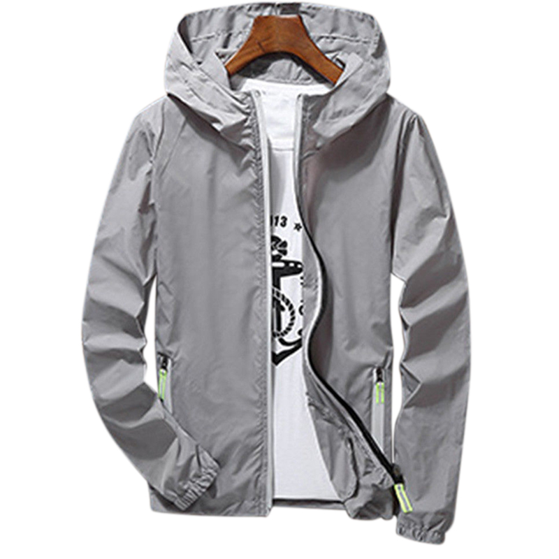 Men/Women Waterproof Windbreaker Jacket