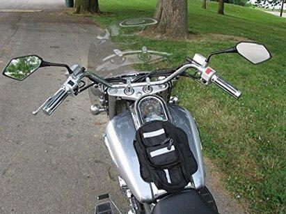 1 Pair 10MM HD Motorcycle Rear View Side Mirrors Fits for Kawasaki Suzuki Honda Victory