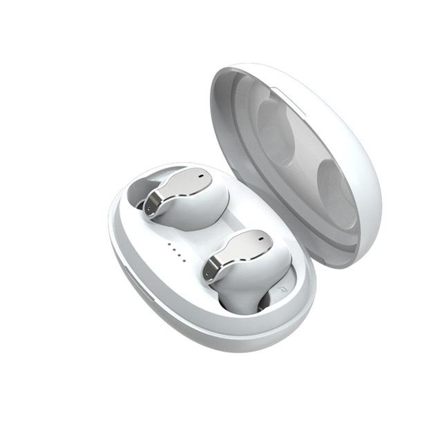 XY-5 TWS Wireless Bluetooth Earphone Headset  In-Ear Wireless Earphones  white