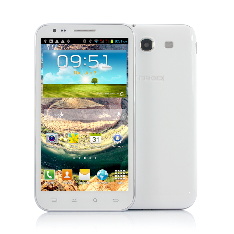 5.7 Inch Android 4.1 3G Phone - Marble