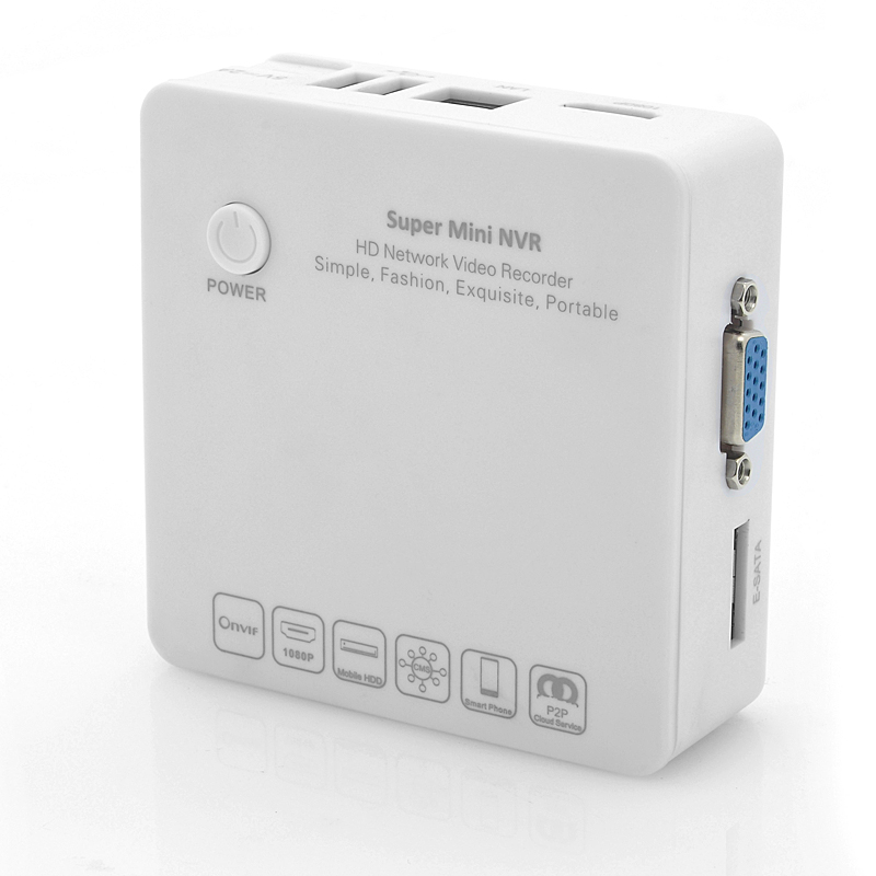 Cloud P2P HD Mini NVR - Box-Watch