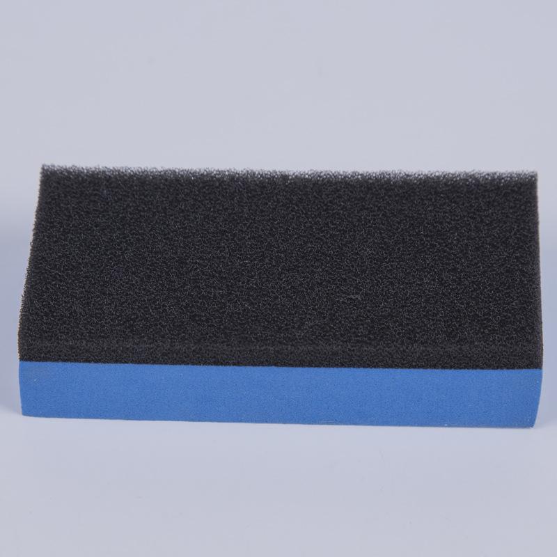 6pcs Car Wash Foam Lacquer Coating Sponges Car Maintenance Waxing Sponge Coating Applicator Car Cleaning random