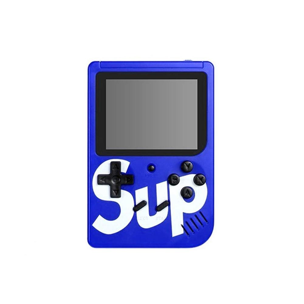 400 in 1 Sup Retro Nostalgia Double Handheld Game Console Gamepad blue